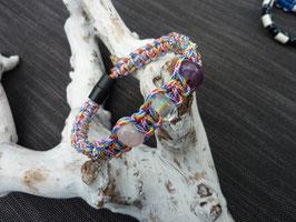Halsband regenboog voor katten met unieke combinatie van 3 edelstenen