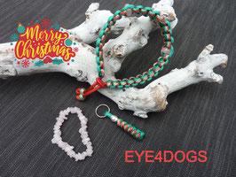 Halsband Santa Claus met edelstenen