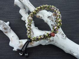 Halsband met Lava geursteentjes model Marigold