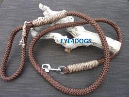 Hondenlijn Brown 12mm