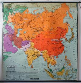 Asien Staatengruppen, wirtschaftliche Schwerpunkte, Bevölkerungsdichte