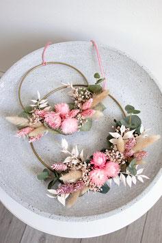 Rosa Flower Hoop