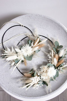 Natural Flower Hoop