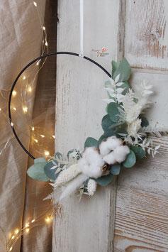 Cotton Flower Hoop