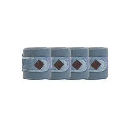 Hellblau Polar Fleece Bandage Samt