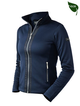 Navy silver -Fleece jacket