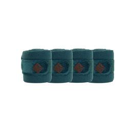 Smaragd Polar Fleece Bandage Samt