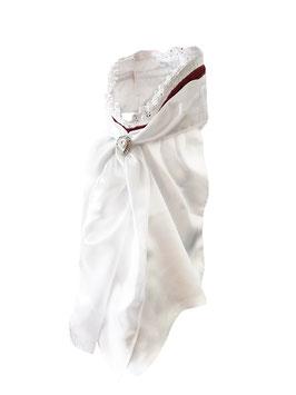 Stock Tie Queen Bordeaux - Plastron