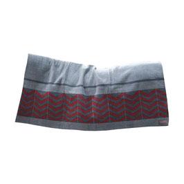 Square Fishbone - Heavy Fleece Rug