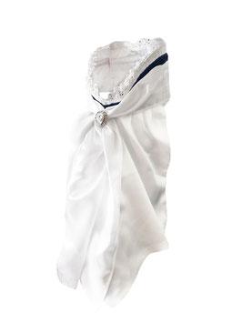 Stock Tie Queen Dark Navy - Plastron