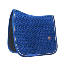 Marineblau Basic Velvet Dressage