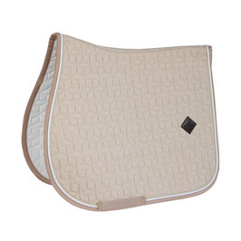 Beige Wolle Jumping