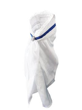 Stock Tie Queen Navy - Plastron
