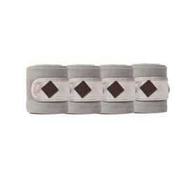Beige Fleecebandagen Basic Velvet