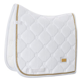 White Perfection Gold - Equestrian Stockholm Dressurschabracke