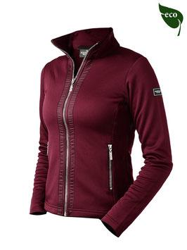 bordeaux -Fleece jacket