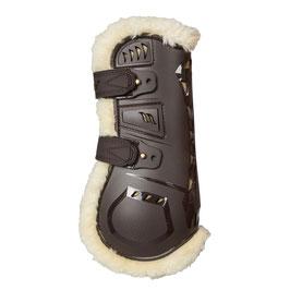 Braun AirFlow Tendon Boots mit Kunstfell