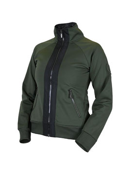 Deep Olivine - Bounded Fleece Jacket
