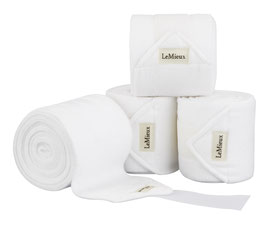 White - Luxury Polo Bandagen LeMieux