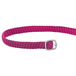 Sporenriemen - Perlon pink