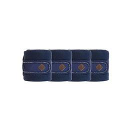 Marineblau - Pearls Fleecebandagen