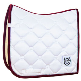 White Perfection Bordeaux- Equestrian Stockholm Dressurschabracke