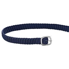 Sporenriemen - Perlon blau