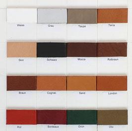 Lederfarbe individueller Rohling