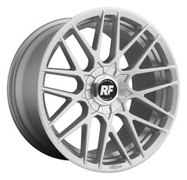 Rotiform RSE 8.5x19 Lk 5/108 ET45 Ml 63.3 Silber