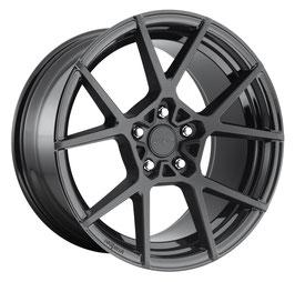 Rotiform KPS 8.5x20 Lk 5/112 ET45 Ml 66.6 schwarz matt & glanz