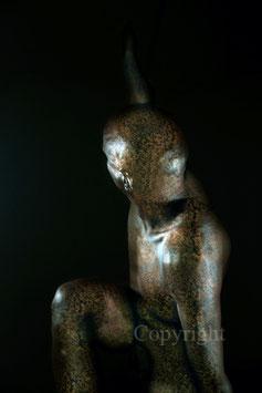 Old Copper Statue - werk 5