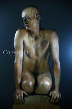 Wooden Statue - werk 1
