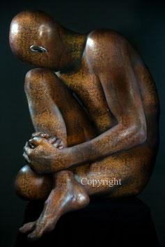 Old Copper Statue - werk 6