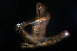 Old Copper Statue - werk 13
