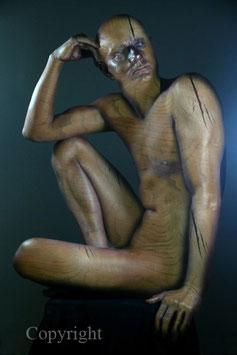 Wooden Statue - werk 4