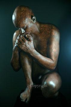 Old Copper Statue - werk 4