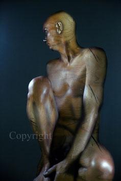 Wooden Statue - werk 3