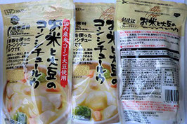 無添加 お米と大豆のコーンシチュールゥ 135g×3袋