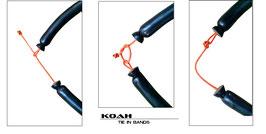 KOAH SPEARGUNS/16mm TIE IN パワーバンド(ユーロ用)