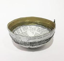Coppa Carta di Giornale e Oro - Quazi Design