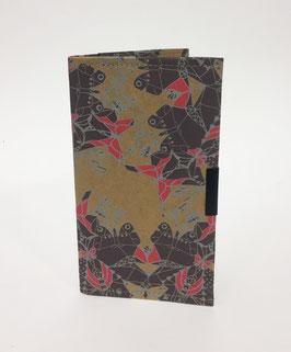 Porta Documenti da viaggio - Wren Design - Scarlet & Frost Moths