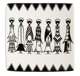 Piatto Decorativo Ursh Ceramics - Masai - Piccolo