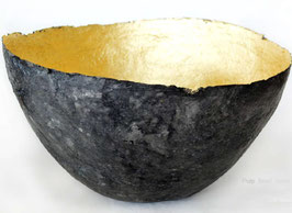 Coppa Nera e Oro - Quazi Design - Piccola