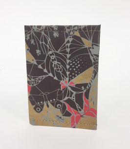 Porta carte di credito - Wren Design - Scarlet & Frost Moths