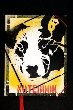 Notebook - Dog in frame