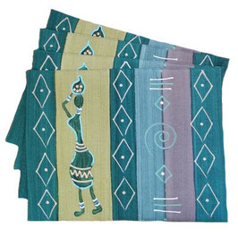 Placemat Masai Lady Olive