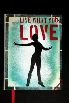 Notebook - Live what you love
