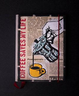 Notebook - Coffee saves my life