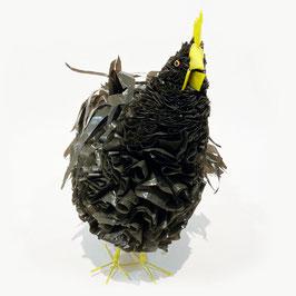Plastic Chicken - Nero con dettagli gialli