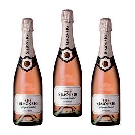 3 Bottiglie kaapse vonkel brut Rosè 2018